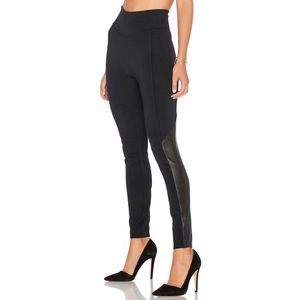Spanx Faux Leather Perforated Leggings